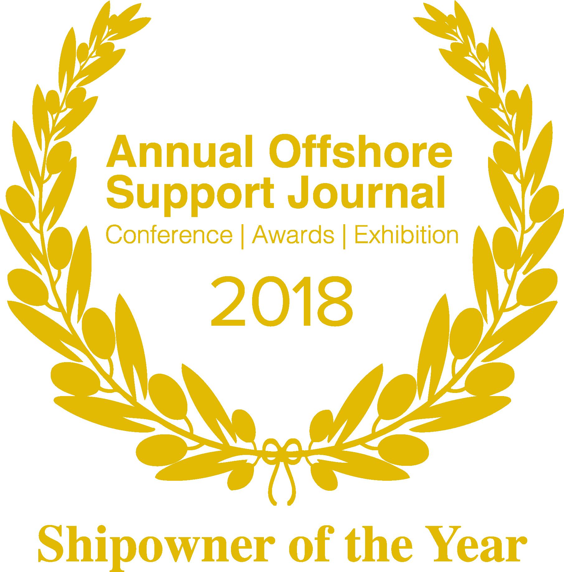 Shipowner of the year award 2018